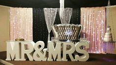 Styrofoam Letter Large Foam Letters Mr And Mrs Wedding Decor