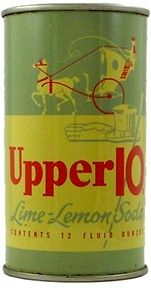 Upper10 lemon-lime soda