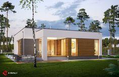 E-182 - E-DOMY.pl Projekty domów jednorodzinnych, piętrowych, energooszczędnych.