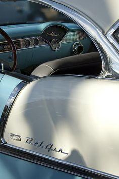 1955 Chevrolet BelAir Dashboard 2
