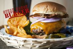 The Ultimate Steakhouse Burger