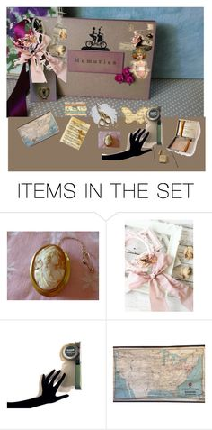 """""""Victorian Scrapping Day"""" by pippinpost ❤ liked on Polyvore featuring art and etsyevolution"""