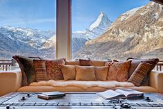 The best view in town. If you are going to travel to the Swiss Alps this is where you want to stay. Grace is the finest luxury catered ski chalet in Zermatt.