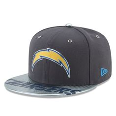 best service dff54 4c229 Los Angeles Chargers New Era 2017 NFL Draft Spotlight 59FIFTY Fitted Hat -  Graphite New Era