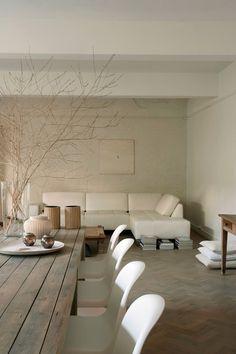Neutral Home Nirvana Rustic Modern Neutral Decor Elsie Matteyssens Loft Antwerpen