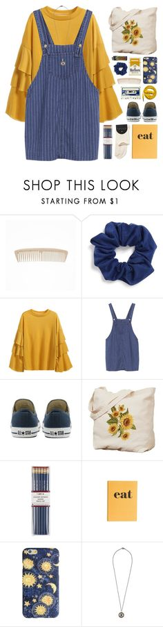 """200217"" by rosemarykate on Polyvore featuring Natasha, Converse, Urbanears, i am a, Jayson Home and Ileana Makri"