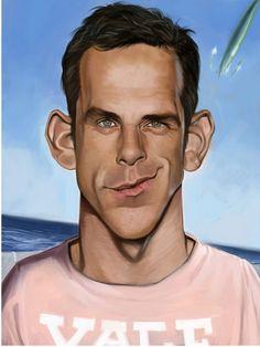 [ Ben Stiller ] - artist: Bernd Ertl - website: