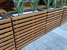 Planter box divider