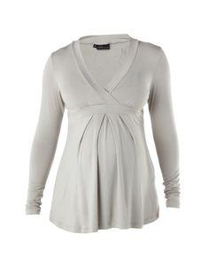 CHERRY MELON | Stone Long Sleeve Fran Wrap Top | Moms and Maternity | kinderelo.co.za