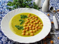 Ala piecze i gotuje: Zupa z cukinii z serkiem topionym