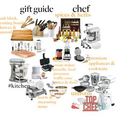 Gift Guide for the Beginner Cook by penni-13 on Polyvore