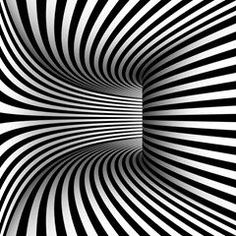 curved hallway illusions curved hallway - Buy this stock illustration and explore similar illustrations at Adobe Stock 3d Art Drawing, Geometric Drawing, 3d Drawings, Geometric Art, Illusion Kunst, Illusion Drawings, Psychedelic Art, Op Art Lessons, Cool Optical Illusions