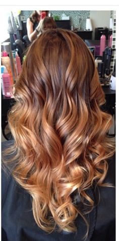 Reddish brown with caramel