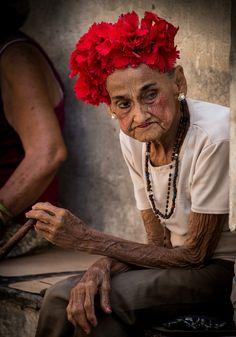 Cigar lady Cuba Havanna