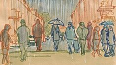 Daily sketching from life, based in Bath, UK Bath Uk, Dip Pen, Different Colors, Sketching, Ink, Tools, Drawings, Painting, Inspiration