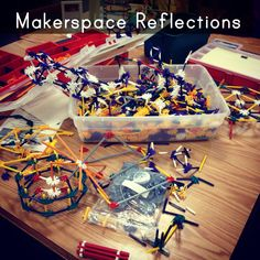 Reflecting on my school's Makerspace at the end of the year - what worked, what didn't and moving forward.