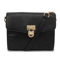 Michael Kors Hamilton Traveler Small Black Crossbody Bags