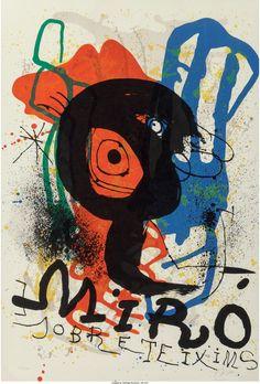 Joan Miró (Spanish, 1893-1983). Sobreteixims Exhibition, 1970. | Lot #61701 | Heritage Auctions