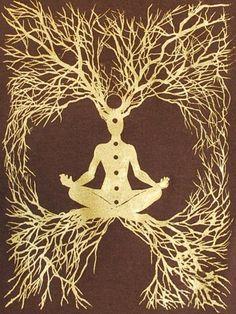 Tree of Life, Yoga meditation, and Chakras Namaste, Reiki, Little Buddha, E Mc2, Eckhart Tolle, Yoga Meditation, Sacred Geometry, Wiccan, Witchcraft