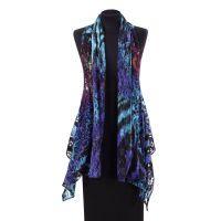 Midnight Lace Vest