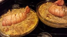 Homemade lobster mac and cheese 10/13
