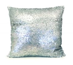 All Pillows : Koi Sequin Pillow in Tide