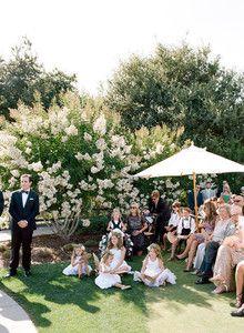 Holman Ranch wedding ceremony