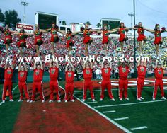 OSU Cheerleaders at Rose Bowl Digital Hi Res File Photo for ONLY $9.95. Download and save it, and print it off in any size that you wish!