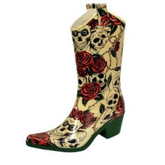 Awesome must-have accessory for the goth cowgirl.