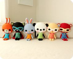 Plush Toy Pdf Pattern  Instant Download by Gingermelon on Etsy, $12.50