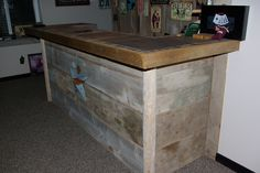 Image detail for -Reclaimed Rustics: Barn Wood Bar
