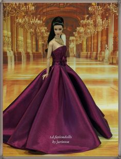 EVeninging Gown 70 for Fashion Royalty 12 inches Doll | eBay