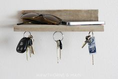 Barn Wood Magnetic Key Holder