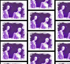 Unisex Mannikin Purple
