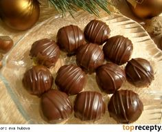 Zbytkové kopky Czech Recipes, Russian Recipes, Christmas Sweets, Christmas Baking, Pastry Cake, Ice Cream Recipes, Holiday Cookies, Confectionery, Mini Cakes