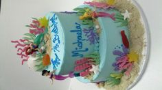 Under the sea themed cake stansbakery.com