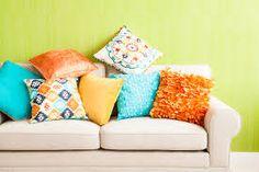 Znalezione obrazy dla zapytania poduszki aranżacja salonu