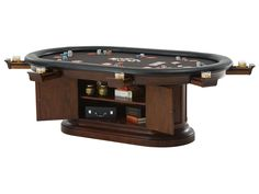 Convertible Poker & Dining Table by RAM Game Room Poker Table Plans, Reloading Room, Rustic Man Cave, Cow House, Man Cave Games, Table Games, Game Tables, Pool Tables, Dining Tables