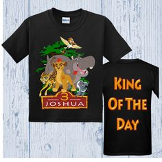 Lion Guard Birthday Shirt - Lion Guard Shirt - Several Styles Available by FashionistaStylez on Etsy https://www.etsy.com/listing/281756686/lion-guard-birthday-shirt-lion-guard