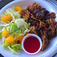 Dinner: Stew Chicken w/ salad minus the mandarins, minus the cranberries & minus the dressing my hubby ate it #quantuml3ap  #stewedchicken #chicken #salad #widn #paleo #foodpics #cleancarbs #eatclean #jerf #lowcarblife #foodjourney #ketolife #foodblogger #foodie #foodgoals #mealprep #instafood #foodofinstagram #fckbeingfat #colorfulfoods #foodista #lowcarbdiary #foodiegram #photooftheday #instadaily #fitspo #gym