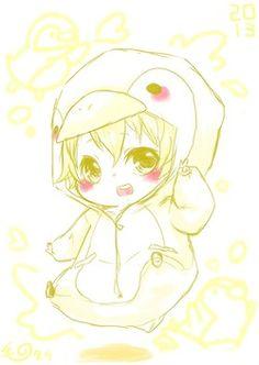 Free! Iwatobi Swim Club - Hazuki Nagisa <3 (Chibii !)