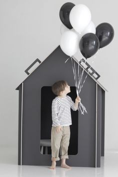 Just starting to think about an indoor playhouse for Rocco. Indoor Playhouse, Build A Playhouse, Van Lego, Modern Kids, Kid Spaces, My New Room, Cubbies, Play Houses, Kids Furniture
