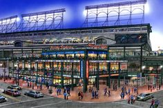 Farmers Markets, Ice Rink, Metal Detectors Coming to Wrigley in Plaza Plan -  The redevelopment plan includes building a 7,000 person-capacity plaza in a 20-week construction period.