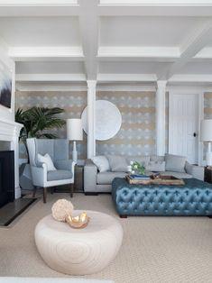 Elegant Stil einrichten Ideen hellblau beige