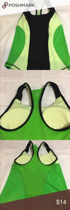 Lululemon workout top Lululemon  atheletica. cool racerback tank. Size 8 lululemon athletica Tops Muscle Tees