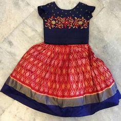 How to buy Frocks For Girls, Dresses Kids Girl, Cute Dresses, Kids Outfits, Baby Dresses, Kids Dress Wear, Kids Gown, Kids Wear, Kids Indian Wear