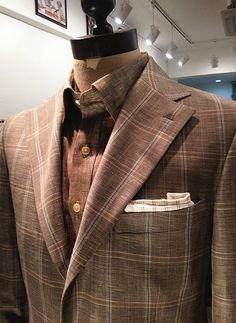 Windowpane check Suit Primavera Tailor
