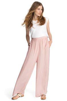 Pantalon ample de Esprit : 60 pantalons qui font le printemps ! - Journal des Femmes