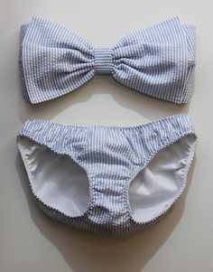 minus the fact that the bottoms look like a diaper...