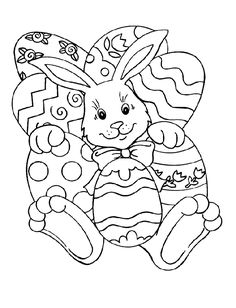 Easter - 999 Coloring Pages